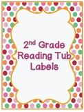 2nd Grade Common Core Reading Labels