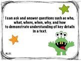 2nd Grade Common Core Reading Standards & Learning Progres