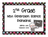 """2nd Grade NGSS Posters """"I Can..."""""""