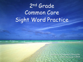 2nd Grade Sight Word Practice, Common Core (Full Year of Instruction)