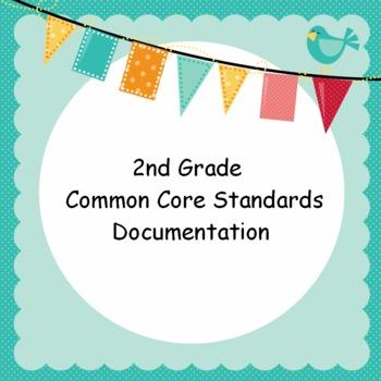 2nd Grade Common Core Standards Documentation