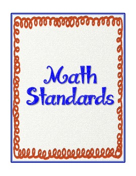 "2nd Grade Common Core Standards - ELA and Math ""Notes & Comments"" Checklist"