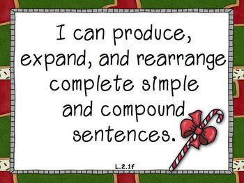 2nd Grade Common Core Standards - Holiday Themes