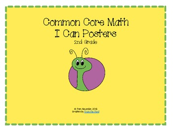2nd Grade Common Core Standards I Can Posters: Snails