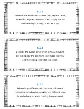 2nd Grade Common Core Standards List - ELA {FREEEBIE}