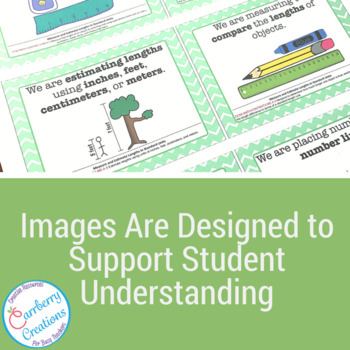 2nd Grade Common Core Standards Posters: Math Standards in Chevron