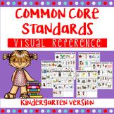Kindergarten Common Core I Can Statements