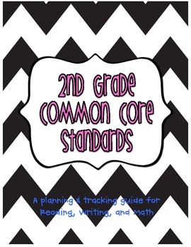 2nd Grade Common Core Standards