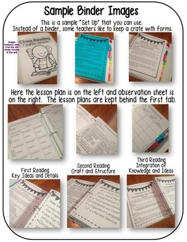 2nd Grade Common Core: Tools for Close Reading, Assessment & Reading Response