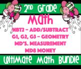 2nd Grade Common Core Ultimate Math Bundle: