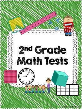 2nd Grade Common Core Unit Test Bundle