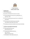 2nd Grade Common Core Vocabulary Standards Checklist - NYS
