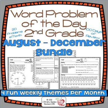 Word Problems 2nd Grade Bundle