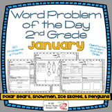 Word Problems 2nd Grade, January, Spiral Review, Distance