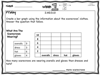 Word Problems 2nd Grade, November