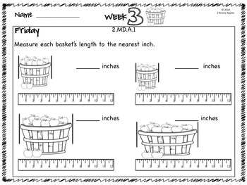 Word Problems 2nd Grade, September