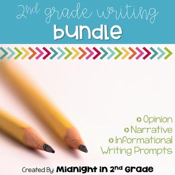 2nd Grade Common Core Writing Bundle