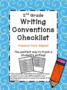 2nd Grade Common Core Writing Conventions