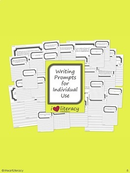 Writing Prompts 2nd Grade Common Core Bundle – March, April, May