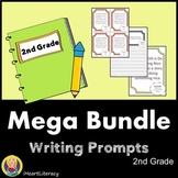 Writing Prompts 2nd Grade Common Core Year-Long Mega Bundle