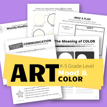 2nd Grade Communication Unit: Color and Mood in Art
