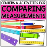 2nd Grade Comparing Measurement Lengths Centers for 2.MD.4