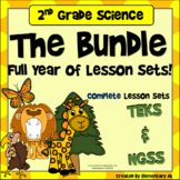 2nd Grade Complete Lesson Sets Full Year BUNDLE with DIGIT