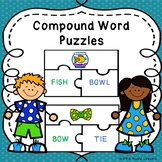 2nd Grade Compound Word Sort Game Puzzles Compound Words Center Activity L.2.4d