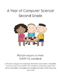 2nd Grade Computer Science Coding Algorithms Digital CItizenship-YEAR