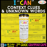 2nd Grade Context Clues & Unknown Words Game