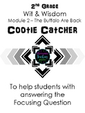 2nd Grade - Cootie Catcher - Wit & Wisdom Module 2 The Buffalo Are Back