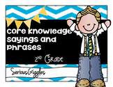 2nd Grade Core Knowledge Sayings and Phrases