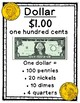 2nd Grade Counting Money Focus Wall Posters