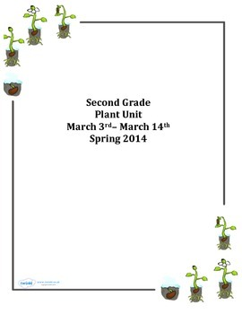 2nd Grade Cross Curricular Plant Unit
