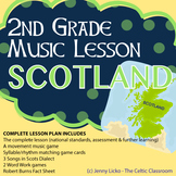 2nd Grade Cultural Music Lesson - SCOTLAND