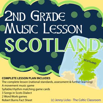 2nd Grade Cultural Music Lesson - SCOTLAND