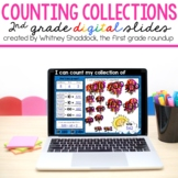 2nd Grade DIGITAL Counting Collections Mats