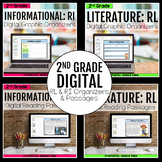 2nd Grade DIGITAL RL and RI Bundle for Distance Learning
