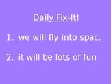 2nd Grade - Daily Fix-It Sentences/Morning Work (Reading S