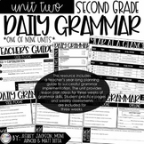 2nd Grade Daily Grammar Unit 2