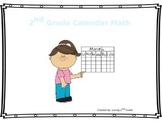 2nd Grade Daily Interactive Calendar Math