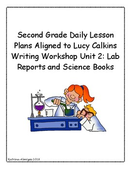 2nd Grade Daily Lesson Plans Aligned to Lucy Calkins Writing Workshop Unit 2
