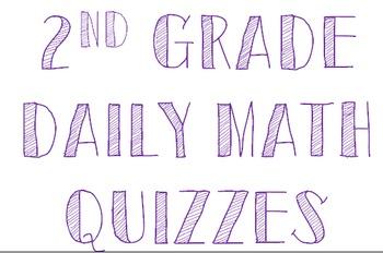 2nd Grade Daily Math Quizzes