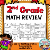 2nd Grade Math Review ~ Morning or Bell Work