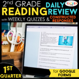 2nd Grade Reading Comprehension   Google Classroom Distanc