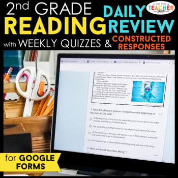 2nd Grade Daily Reading Review & Quizzes | Google Classroom | Distance Learning