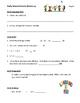 2nd Grade Daily Warm-up (Lang Arts, Math, Geography, Analogy) First 15 days