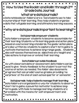 Data Binder (2nd Grade Math and Language Arts)