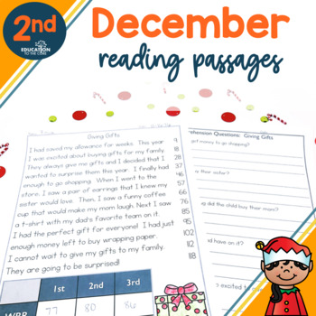 2nd Grade Fluency Passages for December