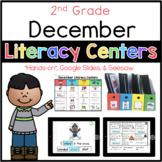 2nd Grade December Literacy Centers